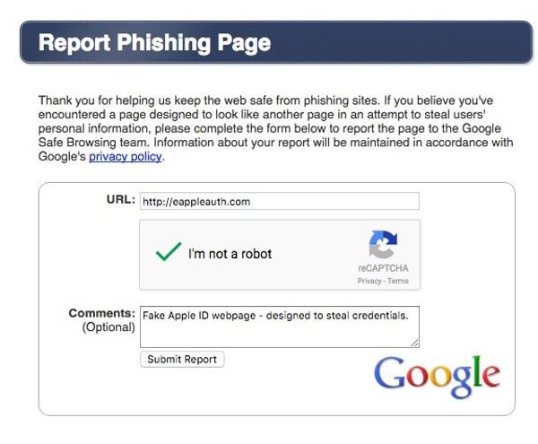 report-phishing